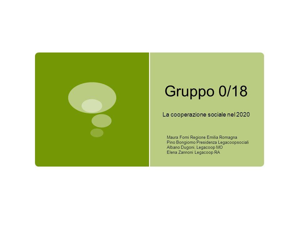 La cooperazione sociale nel 2020