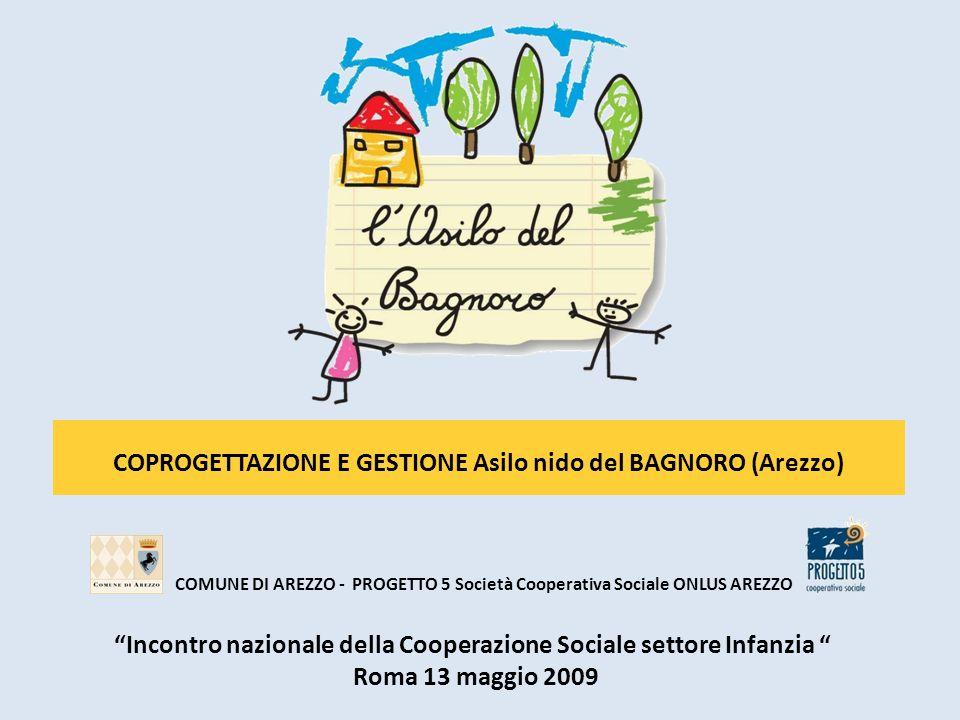 COMUNE DI AREZZO - PROGETTO 5 Società Cooperativa Sociale ONLUS AREZZO