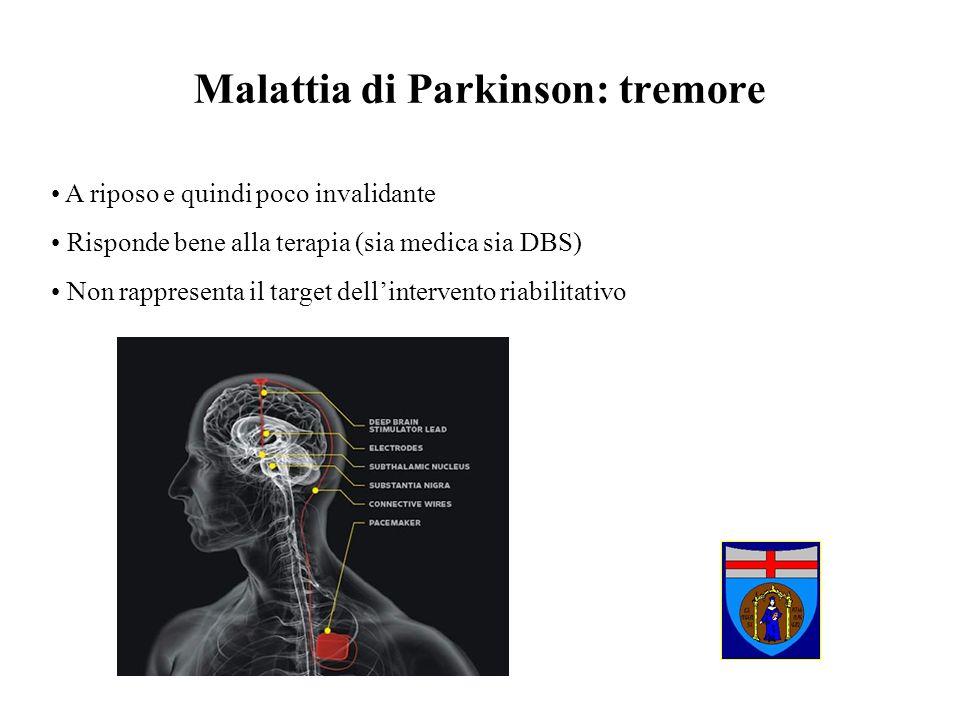Malattia di Parkinson: tremore