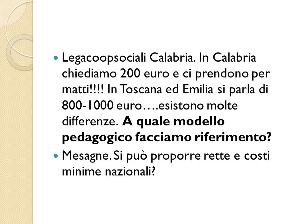 Legacoopsociali Calabria