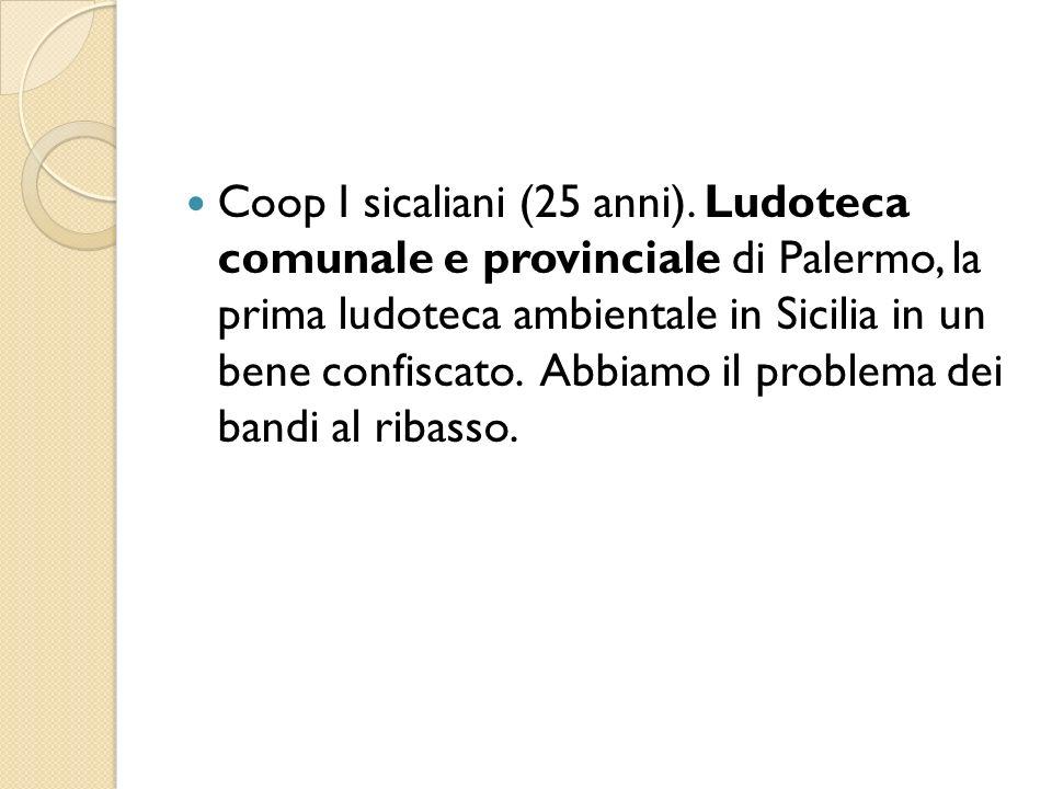 Coop I sicaliani (25 anni)