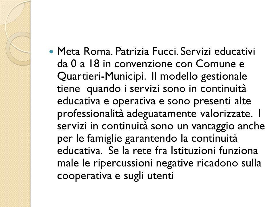 Meta Roma. Patrizia Fucci