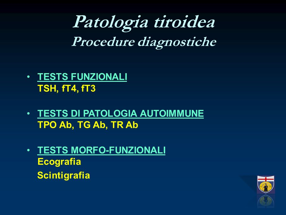 Procedure diagnostiche