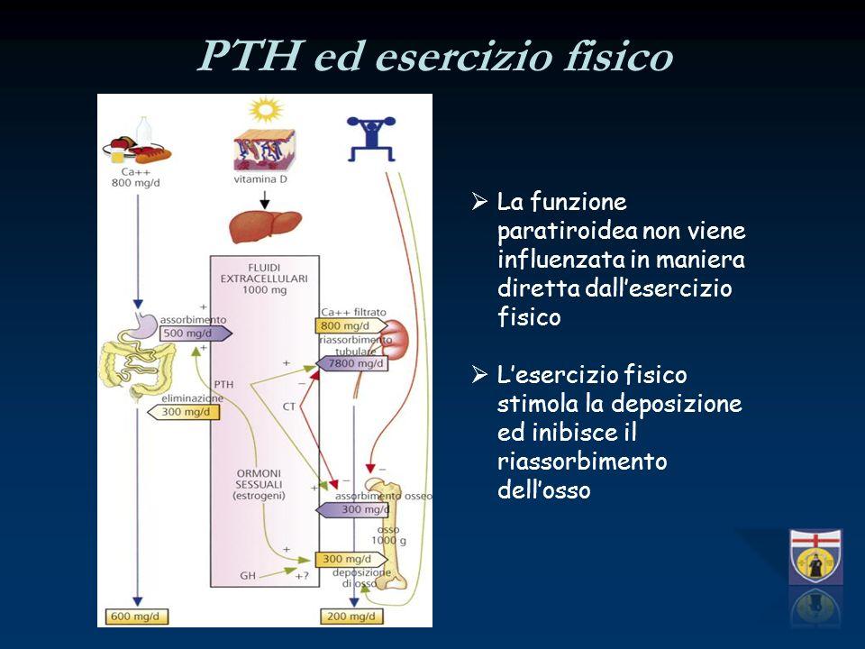 PTH ed esercizio fisico