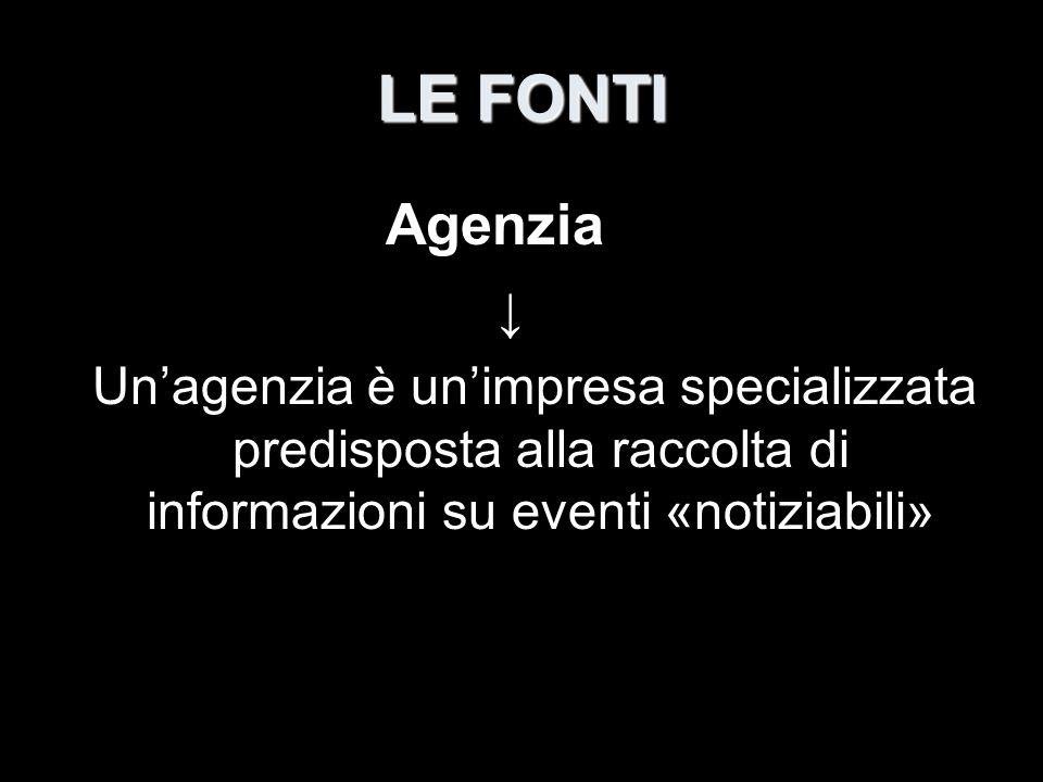 LE FONTI Agenzia.