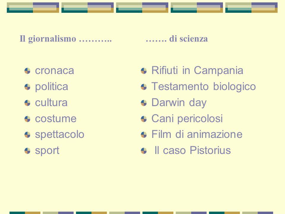 cronaca politica cultura costume spettacolo sport Rifiuti in Campania