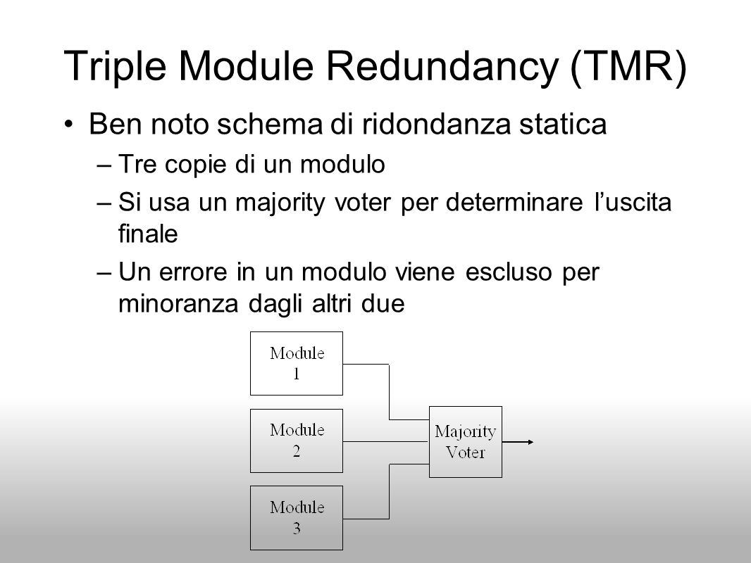 Triple Module Redundancy (TMR)