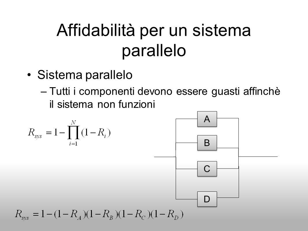Affidabilità per un sistema parallelo