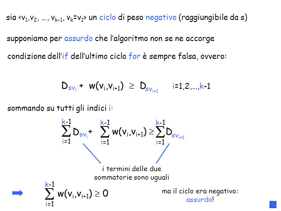     D + w(vi,vi+1)  D D + w(vi,vi+1)  D w(vi,vi+1)  0
