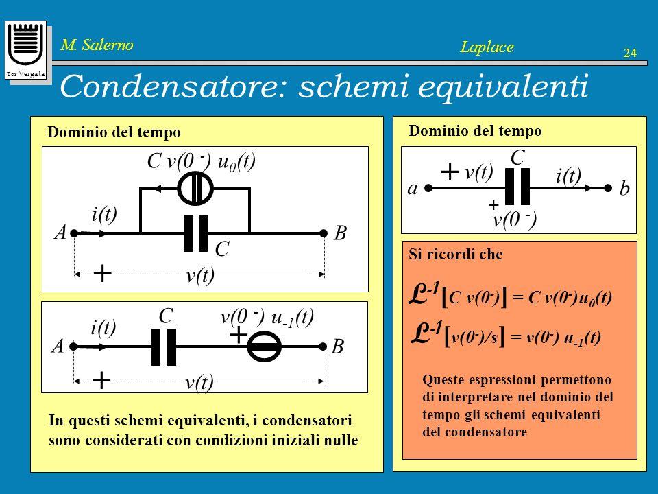 Condensatore: schemi equivalenti