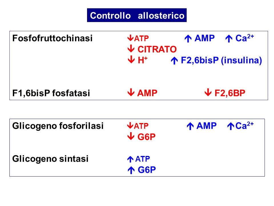 Controllo allosterico