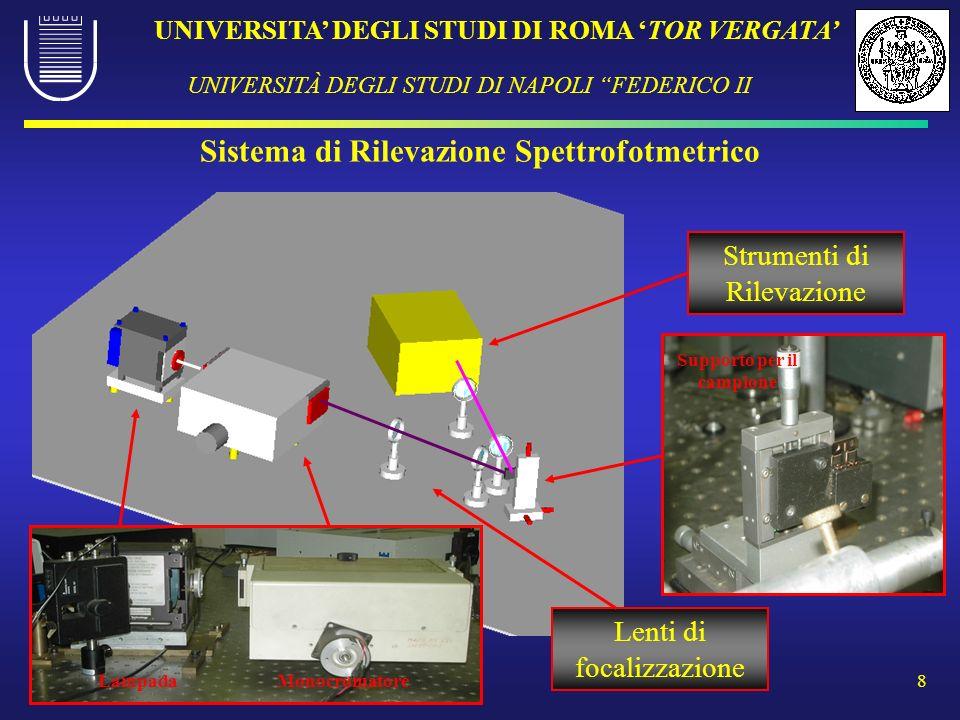 Sistema di Rilevazione Spettrofotmetrico