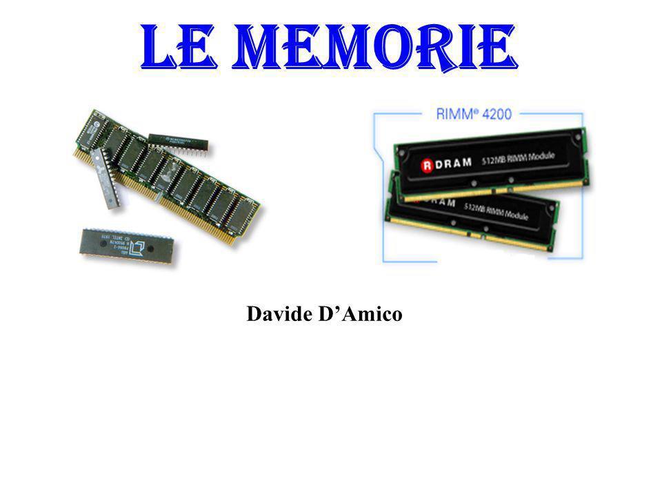 LE MEMORIE Davide D'Amico
