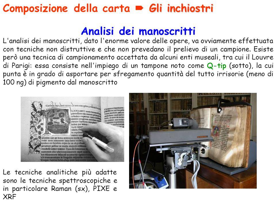 Analisi dei manoscritti
