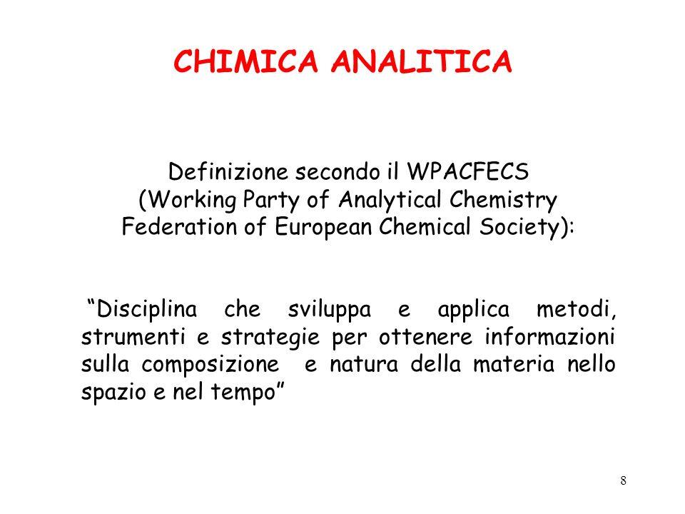 Definizione secondo il WPACFECS