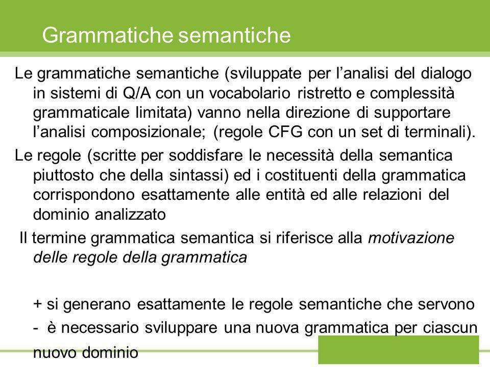 Grammatiche semantiche