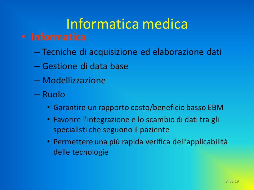 Informatica medica Informatica