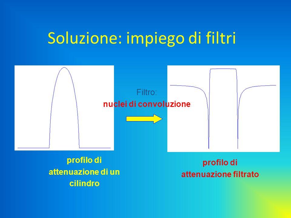 Soluzione: impiego di filtri