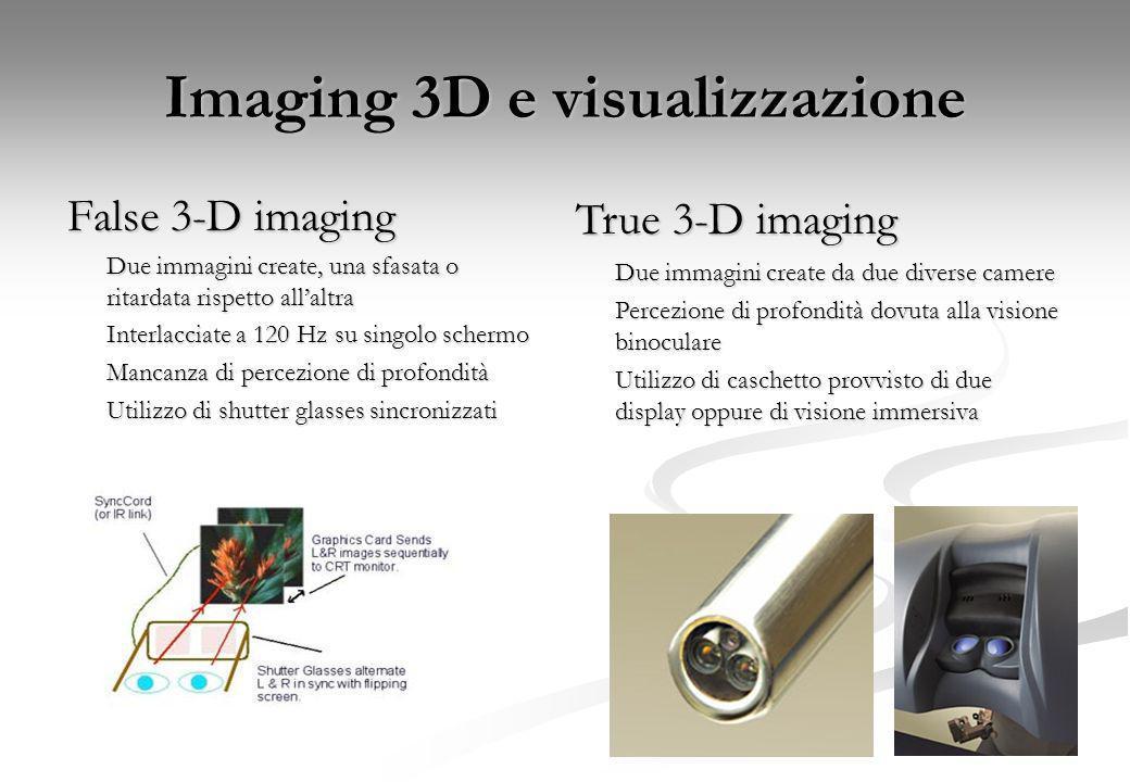 Imaging 3D e visualizzazione