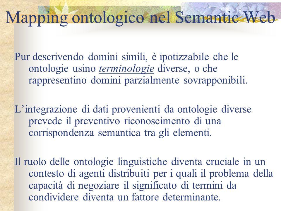 Mapping ontologico nel Semantic Web