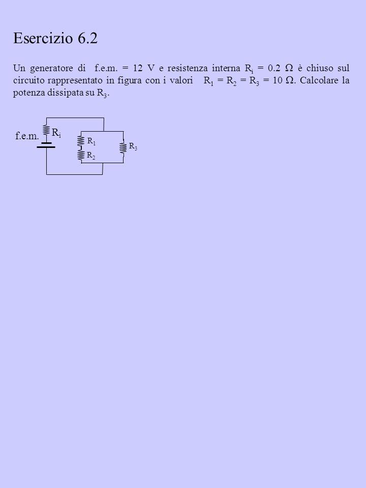Esercizio 6.2