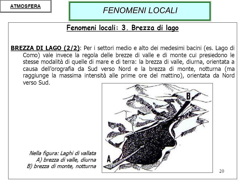 Fenomeni locali: 3. Brezza di lago