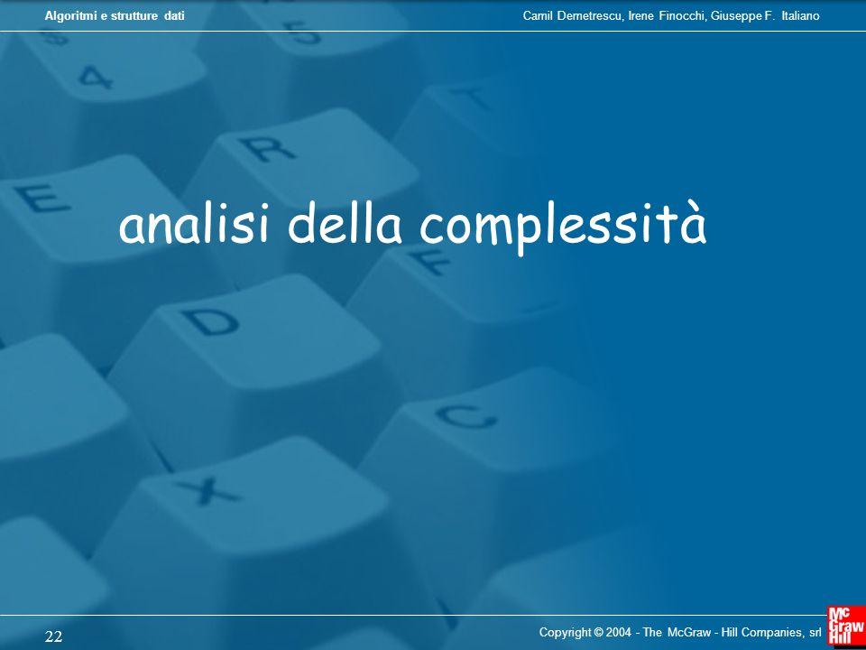 analisi della complessità