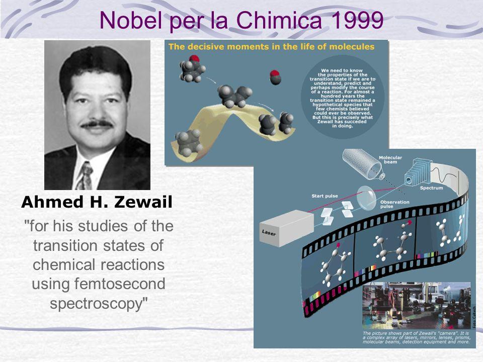 Nobel per la Chimica 1999 Ahmed H. Zewail