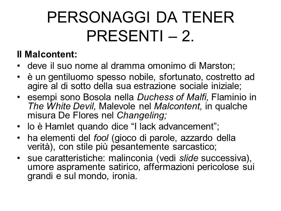 PERSONAGGI DA TENER PRESENTI – 2.
