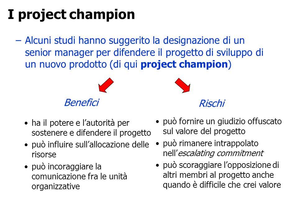 I project champion