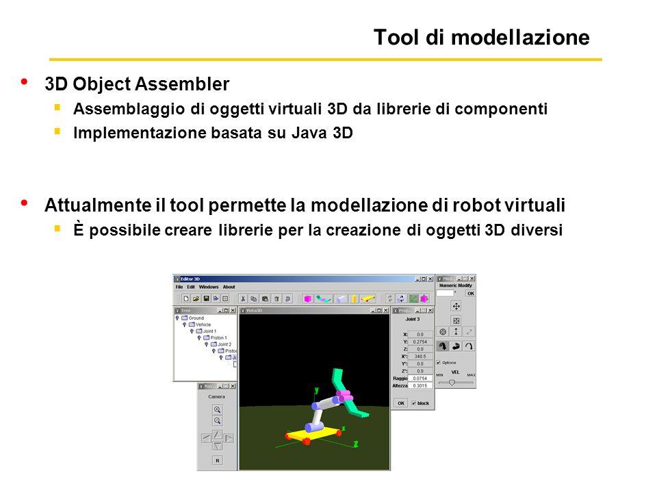 Tool di modellazione 3D Object Assembler