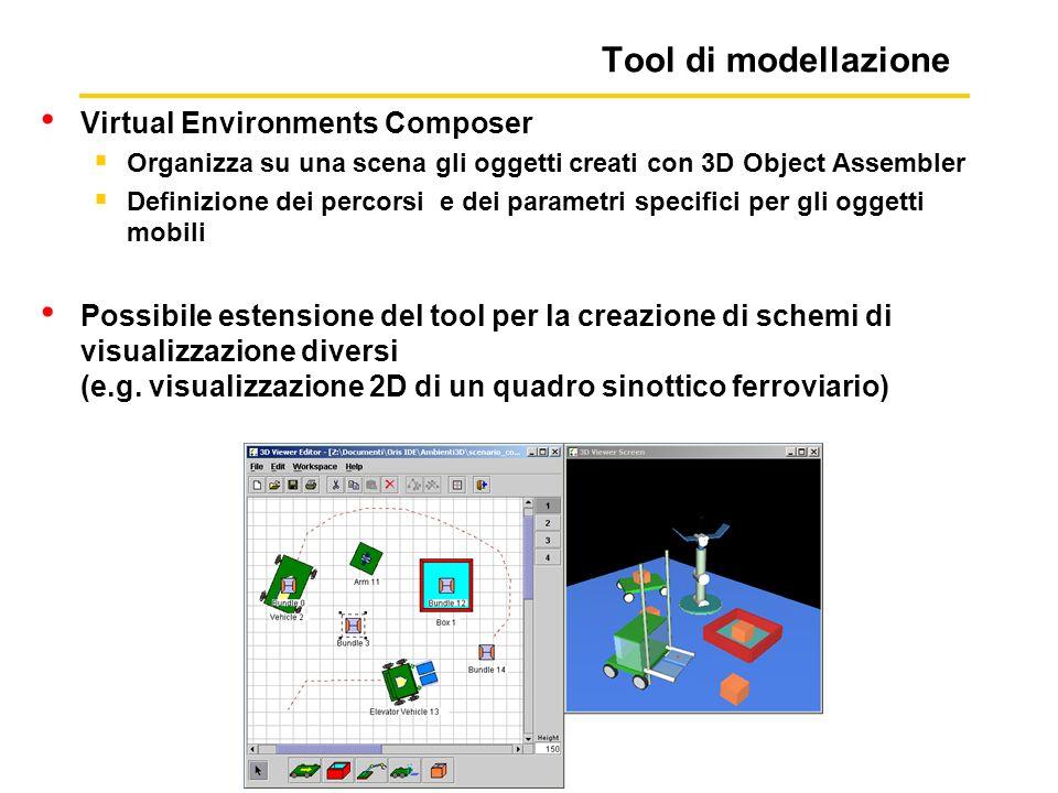 Tool di modellazione Virtual Environments Composer