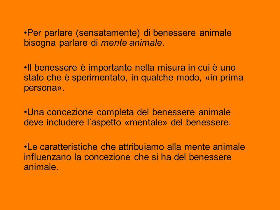 Per parlare (sensatamente) di benessere animale bisogna parlare di mente animale.