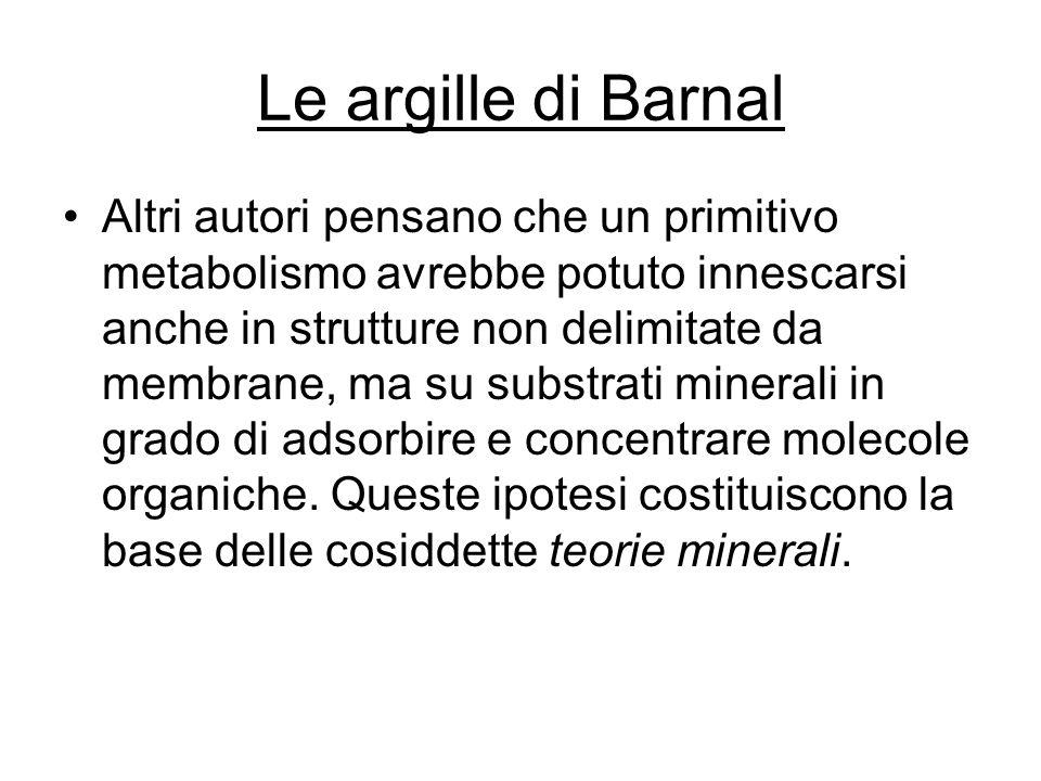 Le argille di Barnal