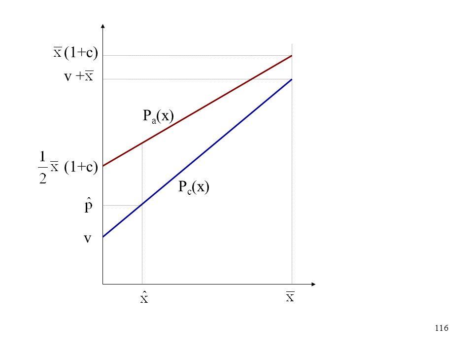 (1+c) v + Pa(x) (1+c) Pc(x) v