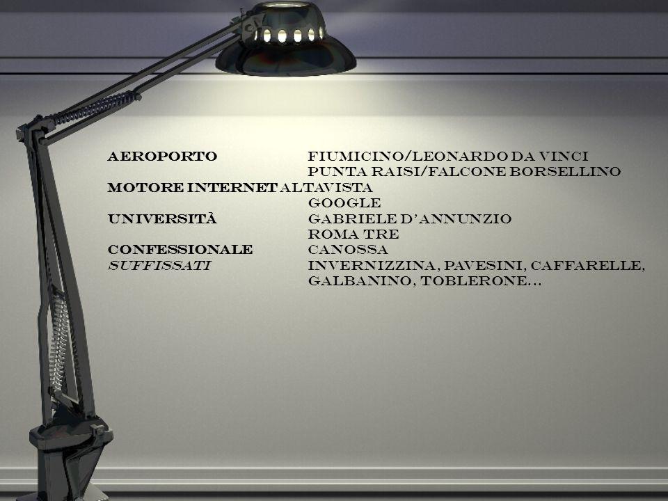 Aeroporto Fiumicino/Leonardo da Vinci