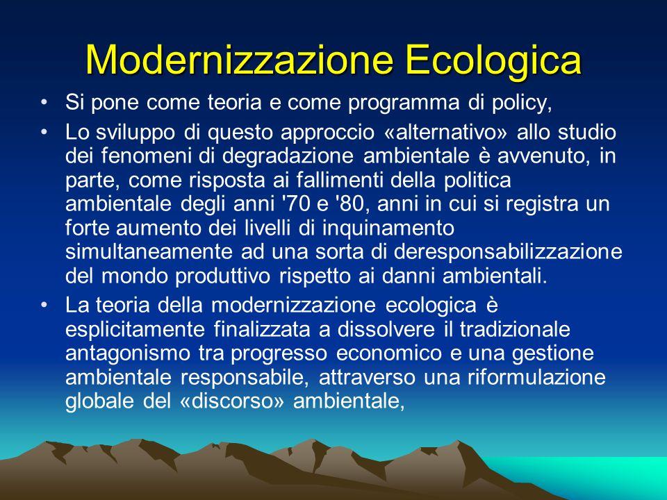 Modernizzazione Ecologica