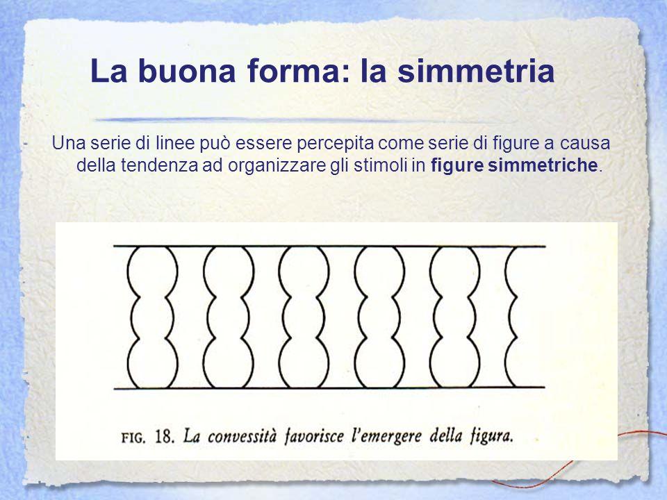 La buona forma: la simmetria