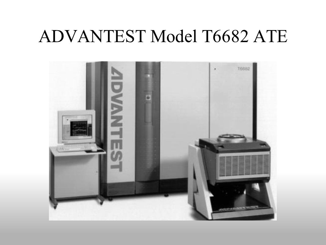 ADVANTEST Model T6682 ATE