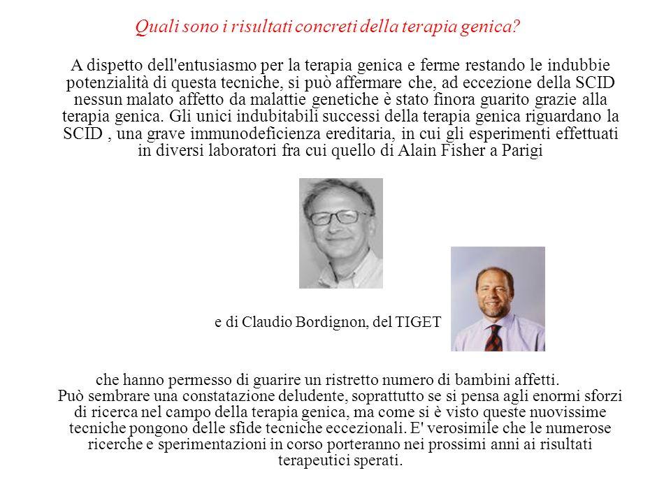 Quali sono i risultati concreti della terapia genica