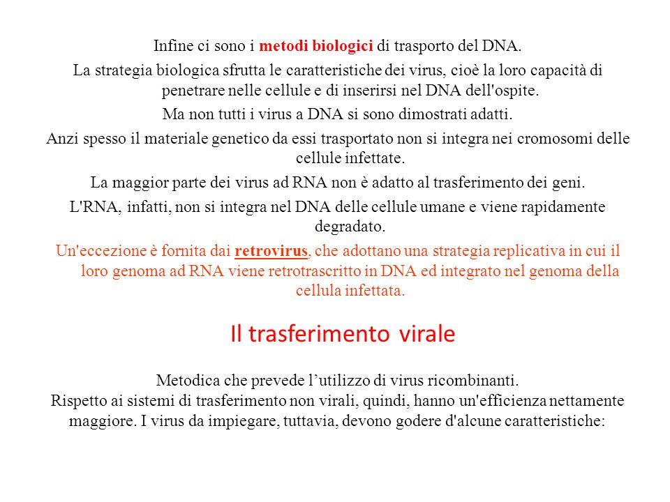 Il trasferimento virale