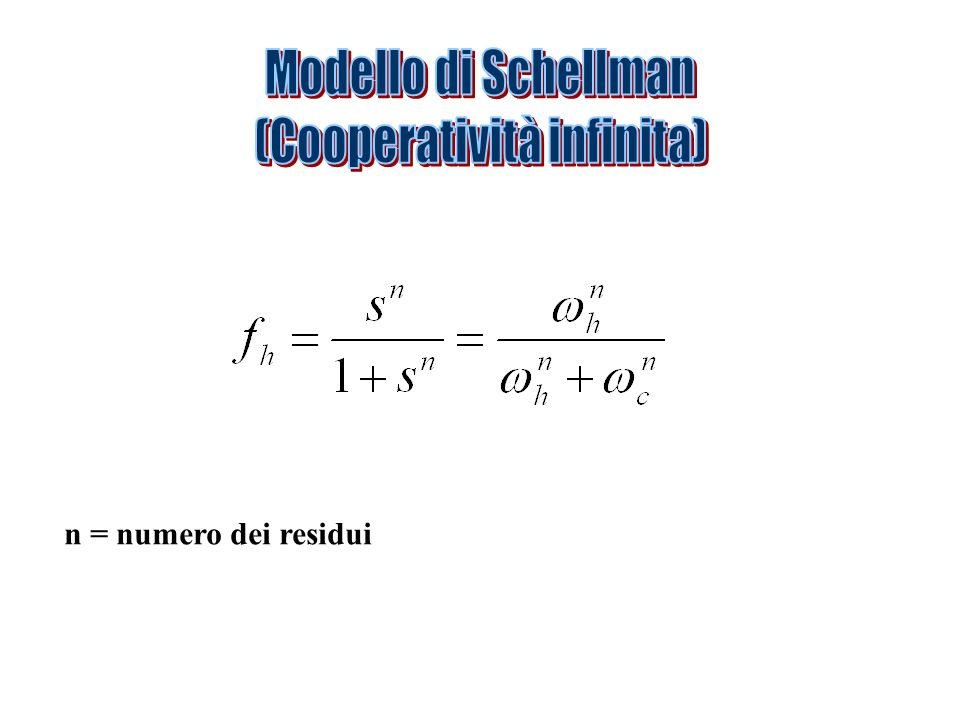 (Cooperatività infinita)