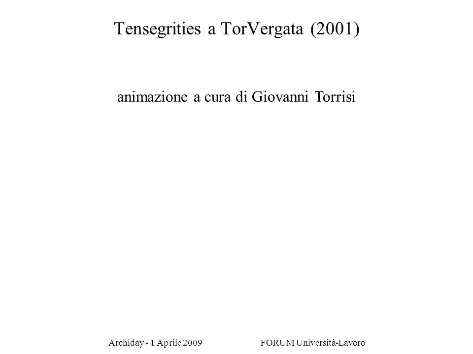Tensegrities a TorVergata (2001)