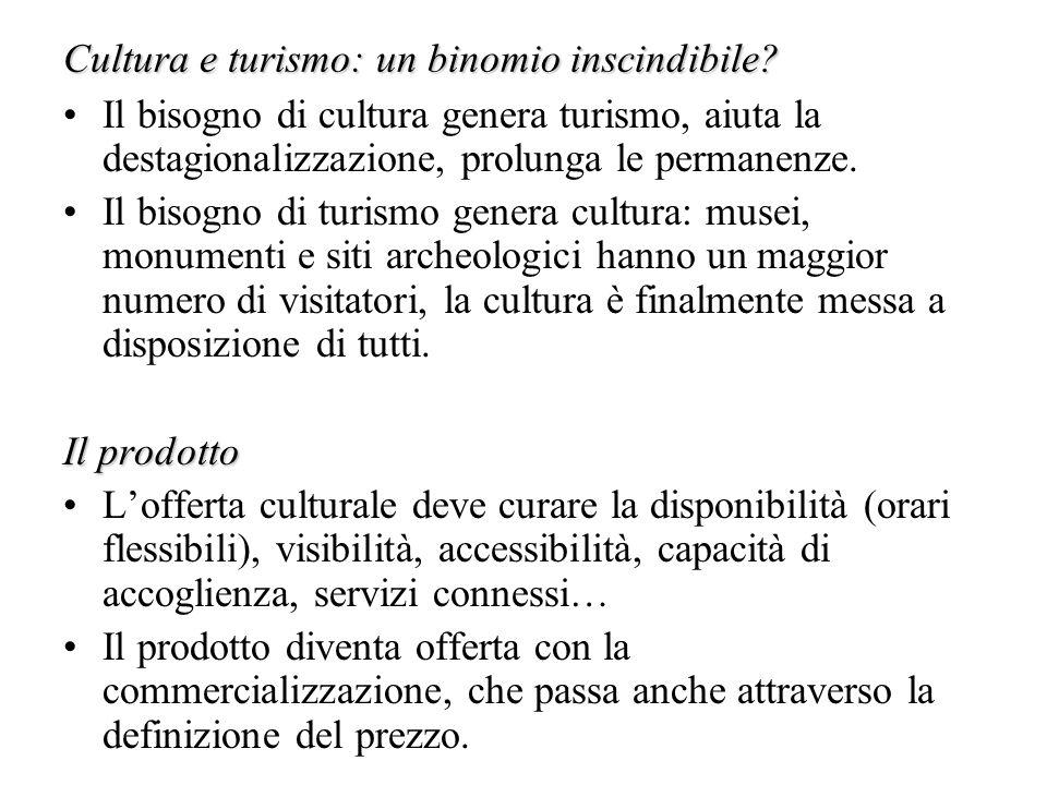 Cultura e turismo: un binomio inscindibile