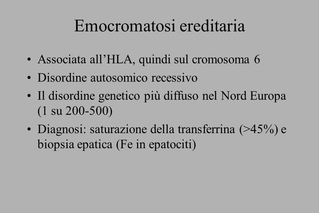Emocromatosi ereditaria