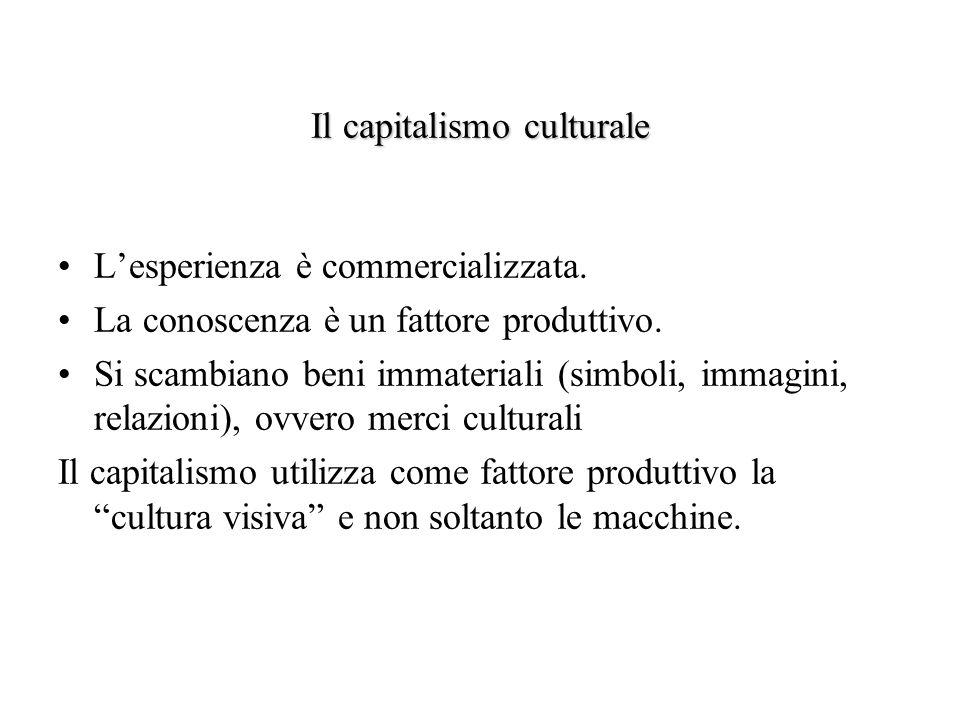 Il capitalismo culturale