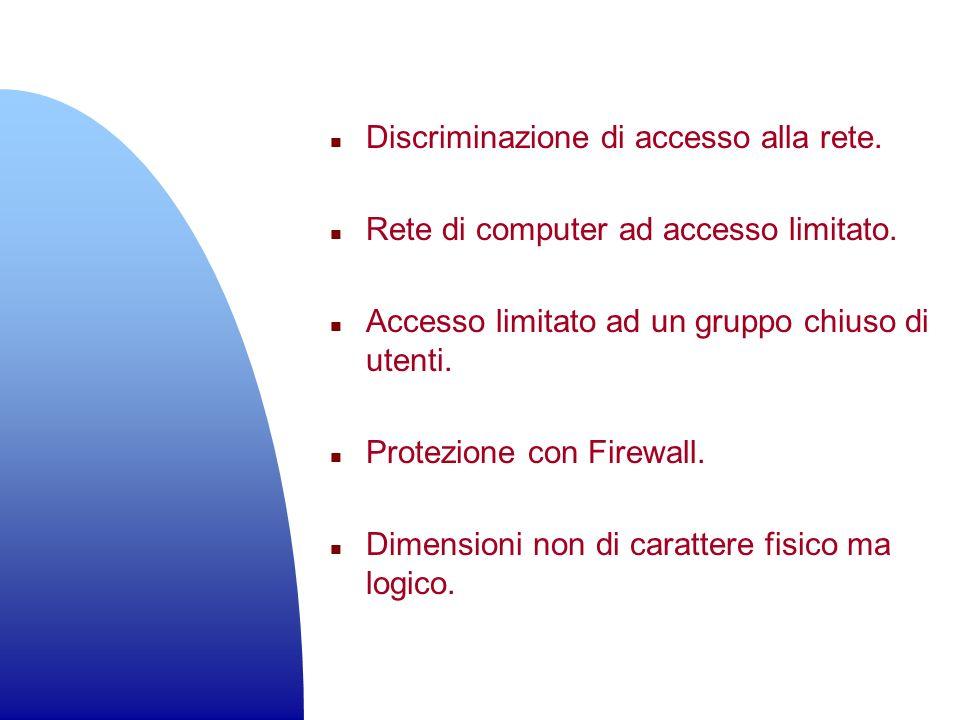 Discriminazione di accesso alla rete.