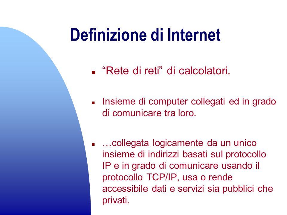 Definizione di Internet