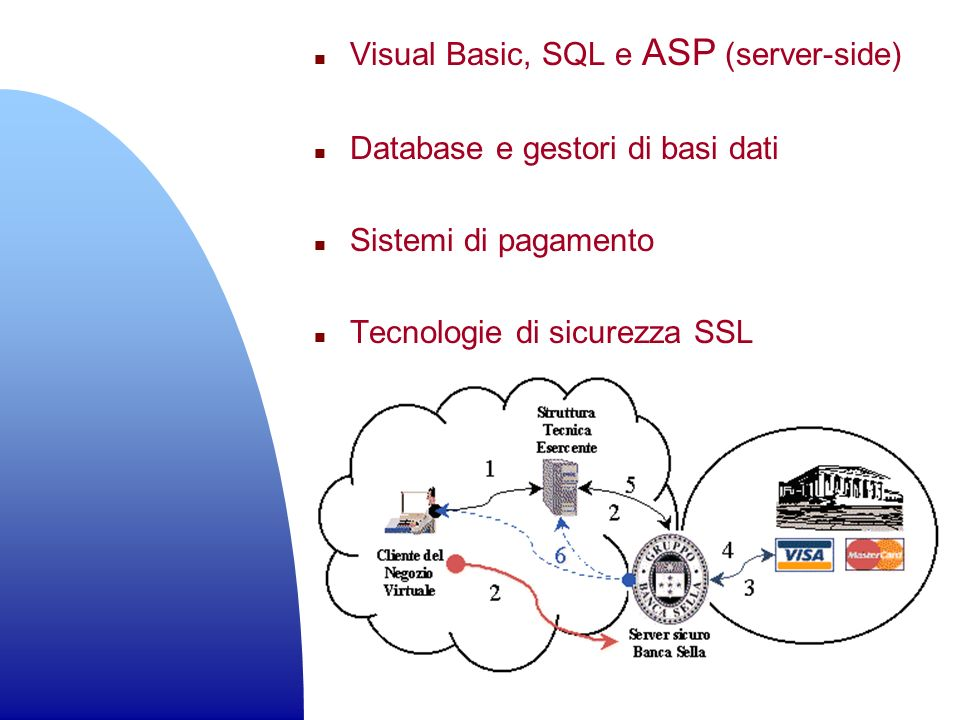 Visual Basic, SQL e ASP (server-side)