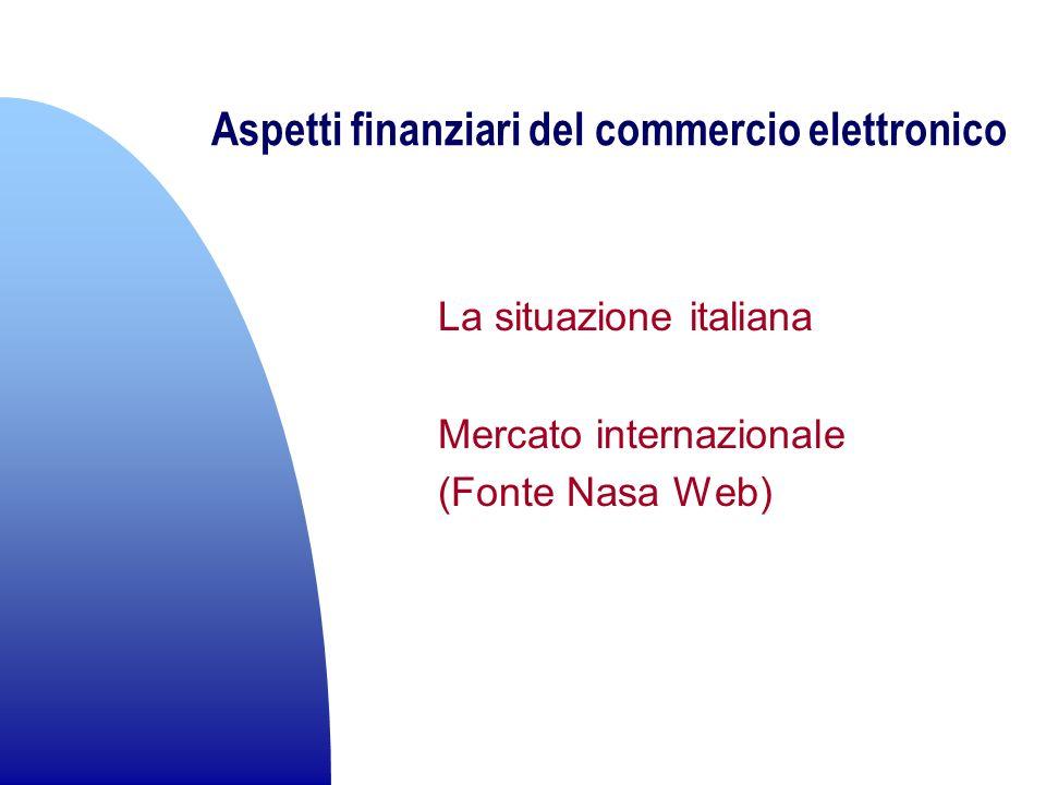Aspetti finanziari del commercio elettronico